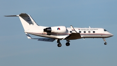 Photo ID 184679 by Carl Brent. Netherlands Air Force Gulfstream Aerospace G IV SP Gulfstream IV, V 11