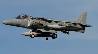 Photo ID 184913 by Hans-Werner Klein. Spain Navy McDonnell Douglas EAV 8B Harrier II, VA 1B 29