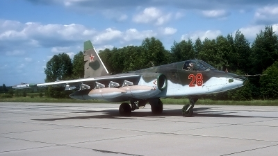 Photo ID 184963 by Rainer Mueller. Russia Air Force Sukhoi Su 25,