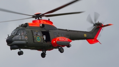 Photo ID 185065 by Lee Barton. Sweden Air Force Aerospatiale Hkp10A Super Puma AS 332M1, 10410