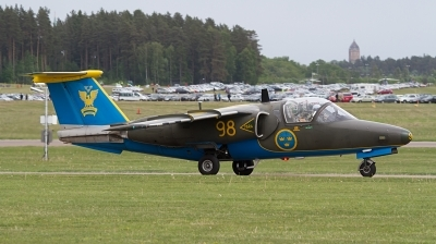 Photo ID 185067 by Lee Barton. Sweden Air Force Saab Sk60A 105, 60098
