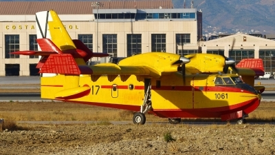 Photo ID 185091 by Manuel Fernandez. Spain Air Force Canadair CL 215T, UD 13 17