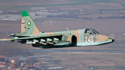 Photo ID 185103 by Anton Balakchiev. Bulgaria Air Force Sukhoi Su 25K, 240