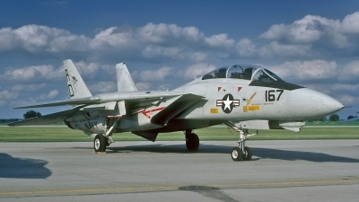 Photo ID 185102 by David F. Brown. USA Navy Grumman F 14A Tomcat, 161435