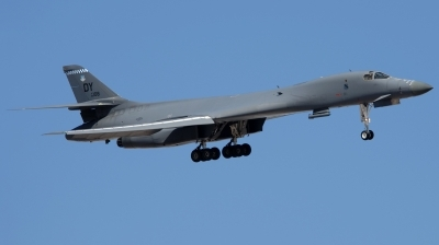 Photo ID 185200 by Hans-Werner Klein. USA Air Force Rockwell B 1B Lancer, 86 0108