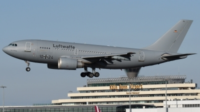 Photo ID 185256 by Hans-Werner Klein. Germany Air Force Airbus A310 304MRTT, 10 24