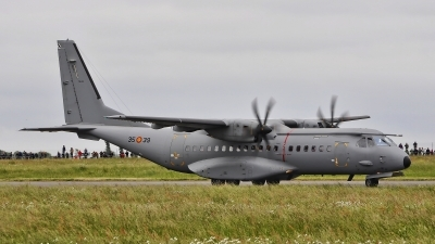 Photo ID 185366 by Radim Spalek. Spain Air Force CASA C 295M, T 21 01