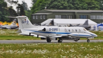 Photo ID 185368 by Radim Spalek. Company Owned GFD Learjet UC 36A, D CGFE