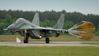 Photo ID 22233 by Radim Spalek. Slovakia Air Force Mikoyan Gurevich MiG 29AS, 6124