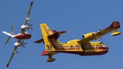 Photo ID 185595 by Thomas Ziegler - Aviation-Media. France Securite Civile Canadair CL 415 6B11, F ZBFS