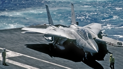 Photo ID 185598 by David F. Brown. USA Navy Grumman F 14B Tomcat, 162694