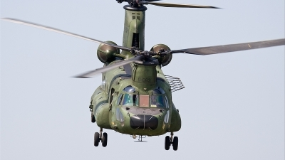 Photo ID 22244 by Alex van Noye. Netherlands Air Force Boeing Vertol CH 47D Chinook, D 663