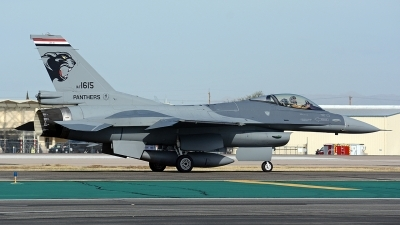 Photo ID 185612 by Eric Tammer. Iraq Air Force General Dynamics F 16C Fighting Falcon, 1615