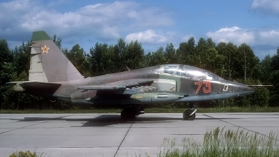 Photo ID 185651 by Rainer Mueller. Russia Air Force Sukhoi Su 25UB,