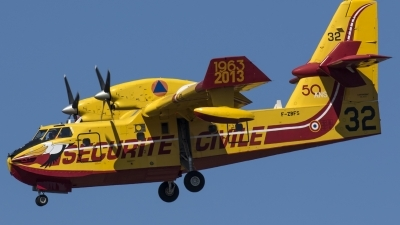 Photo ID 185795 by Thomas Ziegler - Aviation-Media. France Securite Civile Canadair CL 415 6B11, F ZBFS