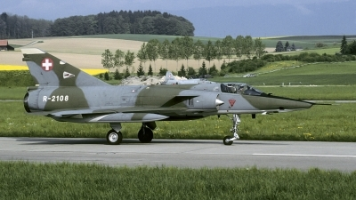 Photo ID 185846 by Joop de Groot. Switzerland Air Force Dassault Mirage IIIRS, R 2108