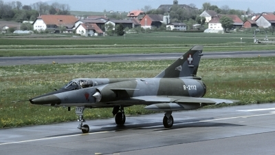 Photo ID 185886 by Joop de Groot. Switzerland Air Force Dassault Mirage IIIRS, R 2112