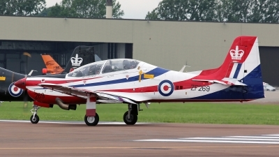 Photo ID 186070 by Richard de Groot. UK Air Force Short Tucano T1, ZF269