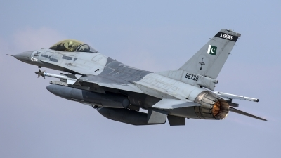 Photo ID 185930 by Thomas Ziegler - Aviation-Media. Pakistan Air Force General Dynamics F 16A Fighting Falcon, 85728