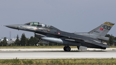 Photo ID 185921 by Thomas Ziegler - Aviation-Media. Turkey Air Force General Dynamics F 16D Fighting Falcon, 88 0014