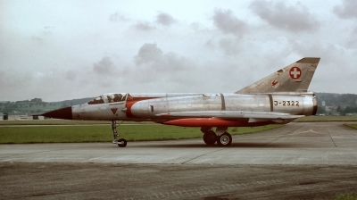 Photo ID 185972 by Alex Staruszkiewicz. Switzerland Air Force Dassault Mirage IIIS, J 2322