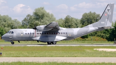 Photo ID 186011 by Günther Feniuk. Poland Air Force CASA C 295M, 026