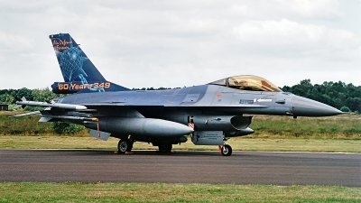 Photo ID 186202 by Jan Eenling. Belgium Air Force General Dynamics F 16AM Fighting Falcon, FA 106