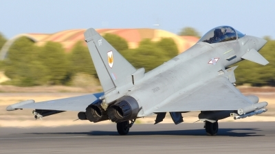 Photo ID 186298 by Alberto Gonzalez. UK Air Force Eurofighter Typhoon FGR4, ZK338