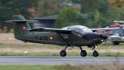 Photo ID 186304 by Lukas Kinneswenger. Denmark Air Force Saab MFI T 17 Supporter, T 430