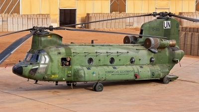 Photo ID 186341 by Jan Eenling. Netherlands Air Force Boeing Vertol CH 47D Chinook, D 103