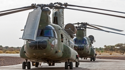 Photo ID 186343 by Jan Eenling. Netherlands Air Force Boeing Vertol CH 47D Chinook, D 662