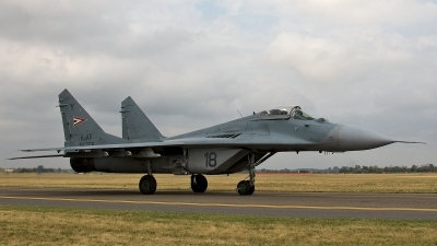 Photo ID 188533 by Jan Eenling. Hungary Air Force Mikoyan Gurevich MiG 29B 9 12A, 18
