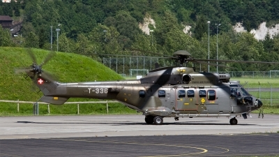 Photo ID 186436 by Jan Eenling. Switzerland Air Force Aerospatiale AS 532UL Cougar, T 336