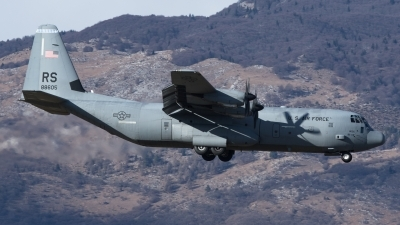 Photo ID 186575 by Luca Bani. USA Air Force Lockheed Martin C 130J 30 Hercules L 382, 08 8605