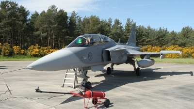Photo ID 22359 by Andy Walker. Sweden Air Force Saab JAS 39D Gripen, 39826