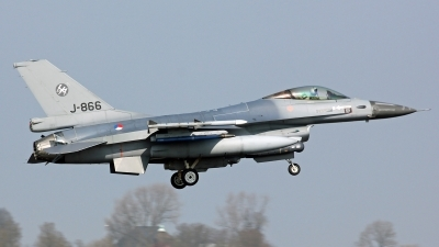 Photo ID 186700 by Richard de Groot. Netherlands Air Force General Dynamics F 16AM Fighting Falcon, J 866