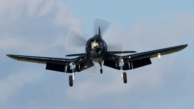 Photo ID 186831 by Lukas Kinneswenger. Private Red Bull Vought F4U 4 Corsair, OE EAS