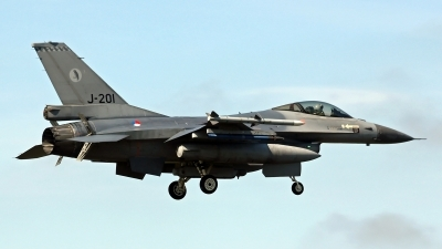 Photo ID 186735 by Richard de Groot. Netherlands Air Force General Dynamics F 16AM Fighting Falcon, J 201