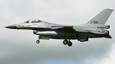 Photo ID 186847 by Arie van Groen. Netherlands Air Force General Dynamics F 16AM Fighting Falcon, J 515