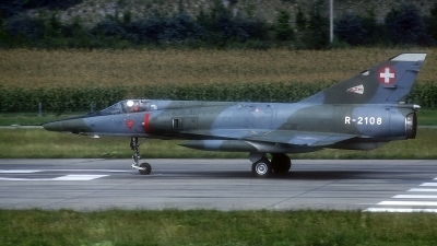 Photo ID 186943 by Rainer Mueller. Switzerland Air Force Dassault Mirage IIIRS, R 2108
