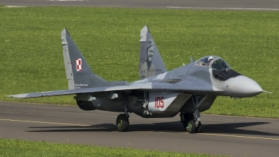 Photo ID 186966 by Thomas Ziegler - Aviation-Media. Poland Air Force Mikoyan Gurevich MiG 29G 9 12A, 105