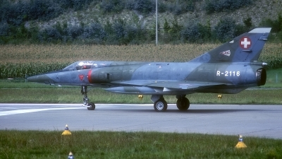 Photo ID 187018 by Rainer Mueller. Switzerland Air Force Dassault Mirage IIIRS, R 2116