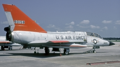 Photo ID 187050 by David F. Brown. USA Air Force Convair QF 106B Delta Dart, 59 0158