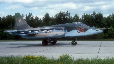 Photo ID 187085 by Rainer Mueller. Russia Air Force Sukhoi Su 25,