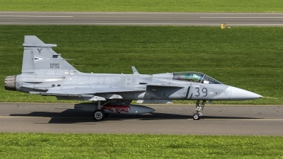 Photo ID 187138 by Thomas Ziegler - Aviation-Media. Hungary Air Force Saab JAS 39 EBS HU C Gripen, 39