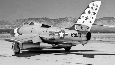 Photo ID 187130 by David F. Brown. USA Air Force Republic F 84F Thunderstreak, 52 6969