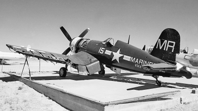 Photo ID 187131 by David F. Brown. USA Marines Vought F4U 4 Corsair, 97349