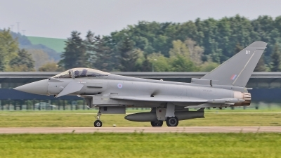 Photo ID 187327 by Radim Spalek. UK Air Force Eurofighter Typhoon FGR4, ZK354