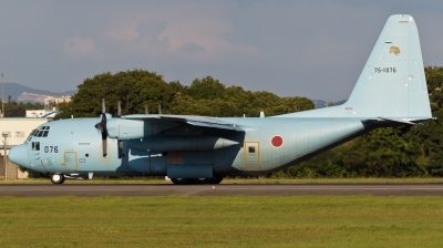Photo ID 187231 by Andreas Zeitler - Flying-Wings. Japan Air Force Lockheed C 130H Hercules L 382, 75 1076