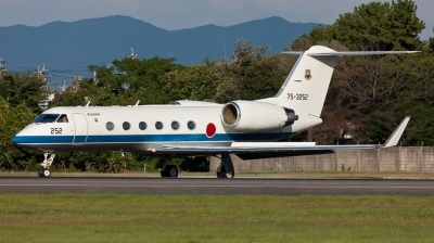 Photo ID 187237 by Andreas Zeitler - Flying-Wings. Japan Air Force Gulfstream Aerospace U 4 Gulfstream IV MPA, 75 3252